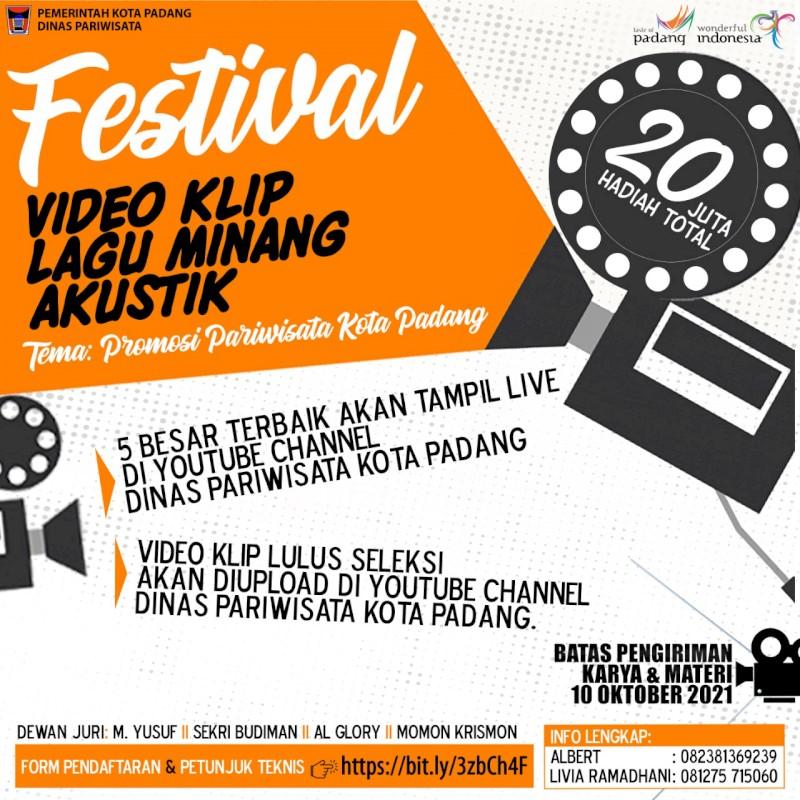 Mari Ikuti Festival Video Klip Lagu Minang Akustik